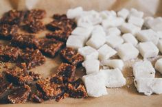 Madeline made her own sugar cubes, and they're beautiful.  via @madelineheising