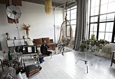 Location is key for any photoshoot, and a disused factory converted into contemporary apartments offered the perfect setting, with amazing light flooding in through the large windows. Contemporary Apartment, Large Windows, Apartments, Behind The Scenes, Photoshoot, Key, Amazing, Big Windows, Photo Shoot