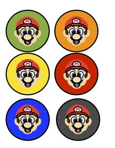 Mario Birthday Party with Free Printables- http://www.redflycreations.com/2012/10/mario-birthday-party-with-free.html