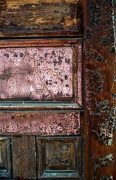 Door detail.  photo taken by Michael Lusk