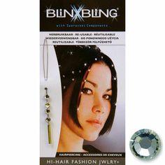 Leuke swarovski steentjes voor in je haar. Deze Blinx-bling juweeltjes zijn steeds weer herbruikbaar. Er is keuze uit wit, roze, licht blauw, donker blauw en rood. Voor slechts 7€ schitter jij op elk feestje!