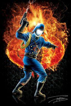 Cobra Commander by ~sketchstudios on deviantART