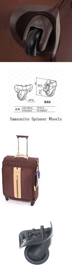 Other Luggage Accessories 173521: Samsonite Luggage Trolley Suitcase Replacement Luggage Wheels Set -> BUY IT NOW ONLY: $35 on eBay!