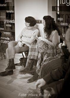 Los rituales de la memoria - Cuentalab con Magda Labarga y Martha Escudero - Sábado 21 de marzo Fotografía: Mara Ruiz A.