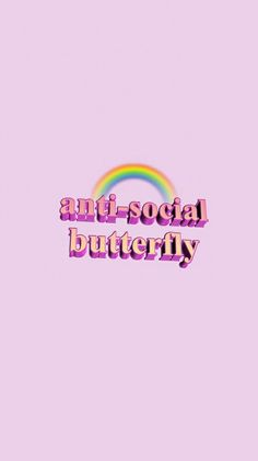 Cellphone Wallpaper, pink, rainbow, anti-social, introvert , girly