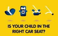 The Right Seat: Car crashes are the number one killer of children 1 to 12 years old in the United States. The best way to protect them in the car is to put them in the right seat, at the right time, and use it the right way. -- safecar.gov #carseat #kids #baby     There are so many car seat types and models, how do you know which one is right for your child?