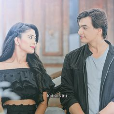 I see my forever with U ❤️❤️❤️ KAIRA  _______________________________________________ #KAIRA #YRKKH #SHIVIN @shivangijoshi18 @khan_mohsinkhan . . . . Strictly No repost ❎
