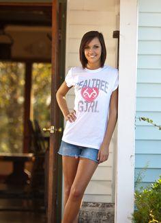 Realtree Girl Heart Logo Pink shirt