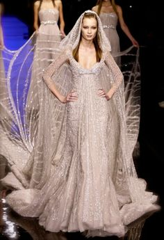 Elie Saab Haute Couture Gown.