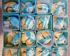 """Photo 1 of 45: Damask and Tiffany Blue / Bridal/Wedding Shower """"Hannah & Co Gets Married!! """" 