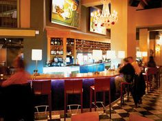 """Bar Lurcat   An Insider's Guide to Minneapolis, Minnesota   Bar overlooking Loring Park with a charming atmosphere and a specialty tequila drink, """"The Spice Market."""""""