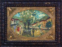 T. Kaminagai, `Cena Urbana` - ost. - med. 40 x 60 cm