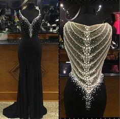 Pd10232 Charming Prom Dress,Chiffon Prom Dress,Mermaid Prom Dress,V-Neck Prom Dress,Beading Prom Dress