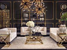 When gold and black is executed correctly, it's a spectacle of the grandest kind.