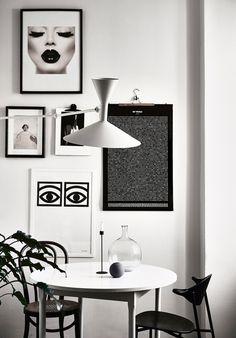 The Monochrome Home of Finnish Interior Designer Laura Seppänen