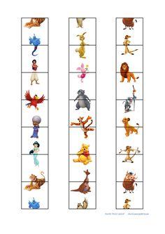 Tiles for the Domino game  Find the belonging board on Autismespektrum on Pinterest. By Autismespektrum