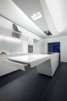 Futuristic Kitchens - Google Search