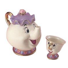 Chip-kun and Disney tea set pot Mrs. (japan import):Amazon.de:Spielzeug