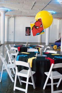Modern Urban Superhero Party