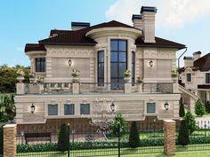 Home architecture kerala 53 ideas Villa Plan, Beautiful Home Designs, Beautiful Homes, Best Modern House Design, Sims House Plans, Rustic Apartment, Custom Home Designs, Luxury Homes Interior, Classic House