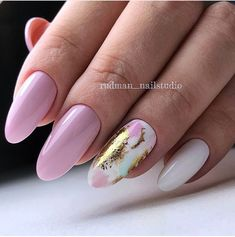 """If you're unfamiliar with nail trends and you hear the words """"coffin nails,"""" what comes to mind? It's not nails with coffins drawn on them. It's long nails with a square tip, and the look has. Hair And Nails, My Nails, Almond Shape Nails, Easter Nails, Valentine Nails, Manicure E Pedicure, Foil Nails, Foil Nail Art, Super Nails"""