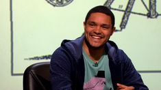 Trevor Noah's click-singing - QI: Series K Episode 6 Preview - BBC Two - A proud South African