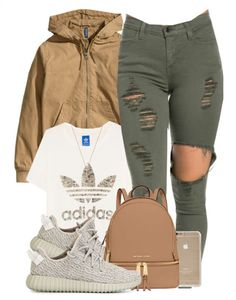 Follow @shapinkapoppin for more Swag Girl Outfits, Cute Outfits For Girls, Winter Swag Outfits, Dope Outfits, Outfits For Teens, Casual Outfits, Hipster Outfits, Summer Outfits, Adidas Women Apparel
