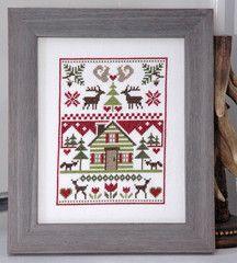 Woodland Sampler Cross Stitch Pattern Instant Download