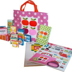 Play grocery with this kit by Milgrim