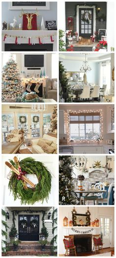 Farmhouse Vintage Christmas Living Room Farmhouse Vintage Christmas