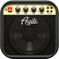 Agile Partners「AmpKit+ - Guitar amps and effects recording studio with backing tracks, tuner and metronome」