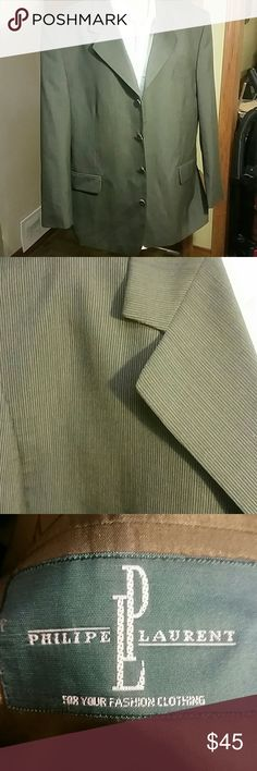 Men Sport Coat  LP All indications that this is NEW!!! POCKETS STILL SEWN TOGETHER Philipe Laurent Suits & Blazers Sport Coats & Blazers