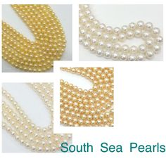 South Sea Pearls - It takes anywhere from one to three years to grow a cultured pearl. Gemsforjewels brings you a these hand collected beauties perfect for a style statement necklace. Avail our blowout Sale Shop 4th July Sale - Flat 55% off on all items.