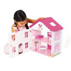 """Hello Kitty Wooden Dollshouse - Jupiter Workshops - Toys """"R"""" Us"""