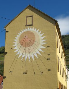 Cadran Solaire - Guebwiller, Alsace, France