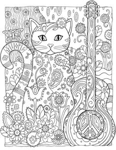Creative Haven Creative Cats Colouring Book - Page 2 of 5
