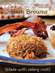 Celery Root Hash Browns - GAPS & Paleo, from Health, Home & Happiness