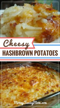 I love all thing potato -- and this recipe is no exception. It's simple, frugal, gluten-free. and it tastes great! This is a perfect side dish to accompany all your upcoming summer cookouts -- it pairs well with hamburgers or grilled meats. Kids and adu Desserts For A Crowd, Food For A Crowd, Brunch Ideas For A Crowd, Breakfast For A Crowd, Breakfast Recipes, Breakfast Dishes, Dinner Recipes, Breakfast Bake, Free Breakfast