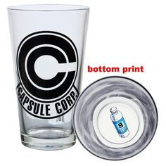 Dragonball Z - Capsule Corp Pint Glass