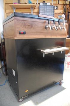 Chest Freezer to Keezer Conversion - Options for the den