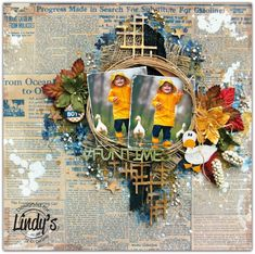 Di's Creative Space: My November DT Reveal For Lindy's Stamp Gang# Funtimes