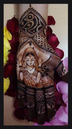 Wedding ceremony.... Mehendi design