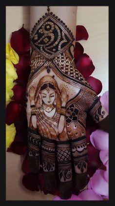 Wedding ceremony.... Mehendi design