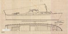 Iversen 40 ft Launch MY 1954 - Sandeman Yacht Company Motor Cruiser, Cabin Cruiser, Fast Boats, Light Crafts, Motor Yacht, Motor Boats, 30 Years, Product Launch, Fountain Powerboats