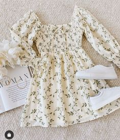 Cute Comfy Outfits, Girly Outfits, Retro Outfits, Trendy Outfits, Cool Outfits, Dress Outfits, Beautiful Outfits, Girls Fashion Clothes, Teen Fashion Outfits