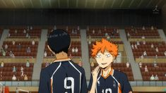 I love how Hinata has learned what Kageyama is about to do to him