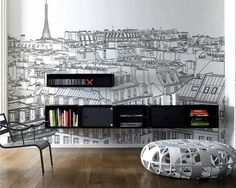 Wandtattoo - Innovative Wall Decals - the new look of the photo mural or not?