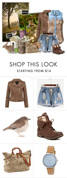 """""""Sans titre #460"""" by frane-x ❤ liked on Polyvore featuring Rock & Candy, Campomaggi and Skagen"""