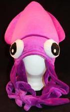 MEN'S Novelty Gaint Purple Squid Hat Underwater Halloween Costume Gasparilla Sea