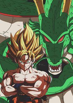 Dragon Ball Gt, Dragonball Anime, Manga Anime, Anime Art, Dragon Images, Avengers, Pokemon Fan Art, Kawaii Anime, Illustrations